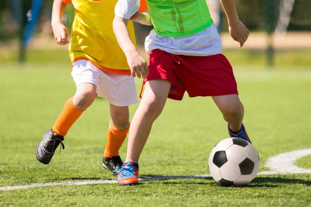 Тренировки по футболу для воспитанников детского дома