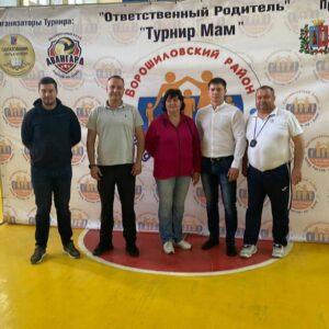 Волейбольный турнир среди мам воспитанников
